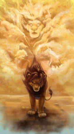 Mufasa Ghost Lion King