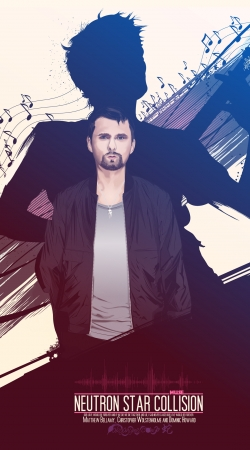 Artwork Muse Matt Bellamy do Samsung Galaxy Young S6310