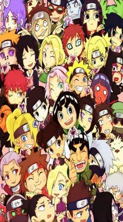 Naruto Chibi Group