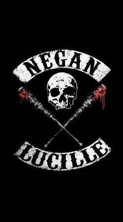 Negan Skull Lucille twd