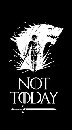 Not Today Arya Quotes