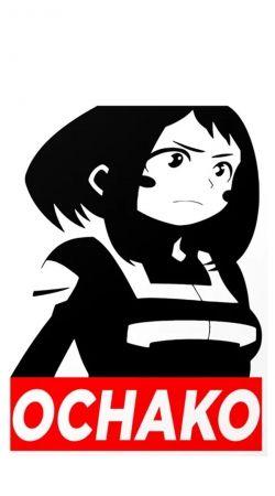 Ochako Boku No Hero Academia