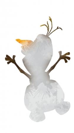 Olaf le Bonhomme de neige inspiration