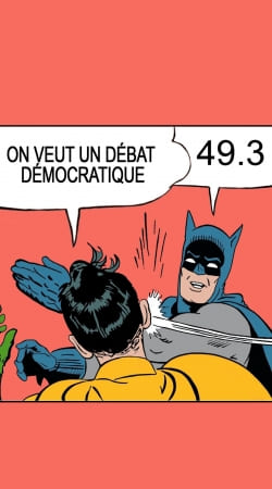On veut un debat 493