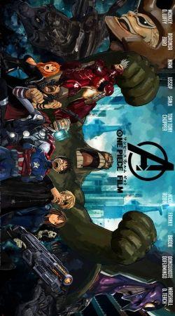 One Piece Mashup Avengers
