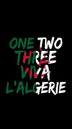 One Two Three Viva lalgerie Slogan Hooligans