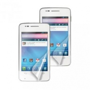 2 in 1 Alcatel One Touch S'Pop Displayschutzfolie