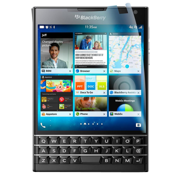 Screen Protector 2-in-1 Pack - BlackBerry Passport