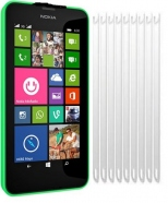 2 in 1 Nokia Lumia 630 Displayschutzfolie