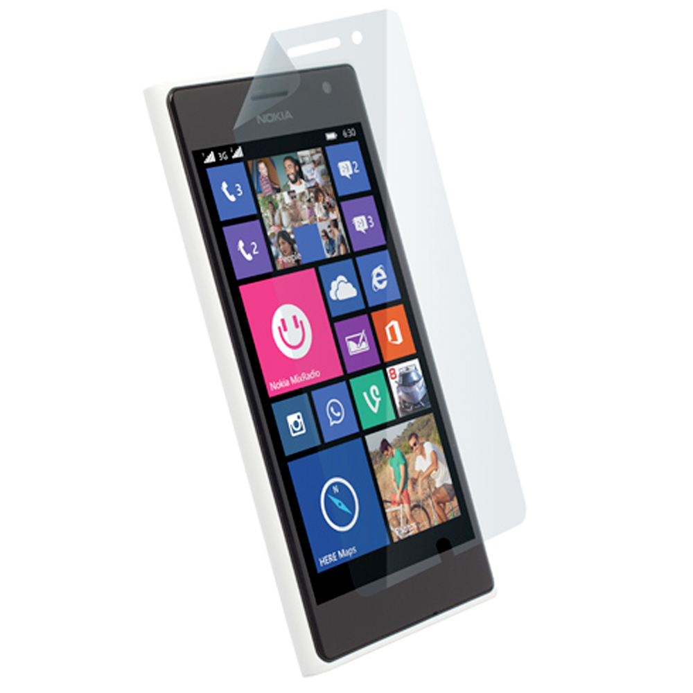 Screen Protector 2-in-1 Pack - Nokia Lumia 735