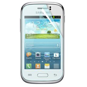 2 in 1 Samsung Galaxy Ace 4 Displayschutzfolie