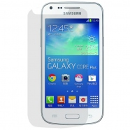 2 in 1 Samsung Galaxy Core Plus G3500 Displayschutzfolie