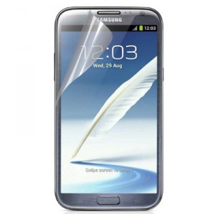 2 in 1 Samsung Galaxy Note III N7200 Displayschutzfolie