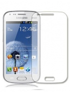 2 in 1 Samsung Galaxy Trend S7560 Displayschutzfolie