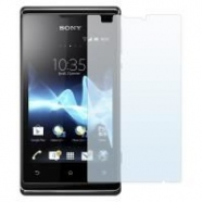 2 in 1 Sony Xperia E3 Displayschutzfolie