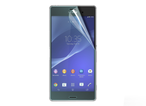 2 in 1 Sony Xperia Z3 Displayschutzfolie