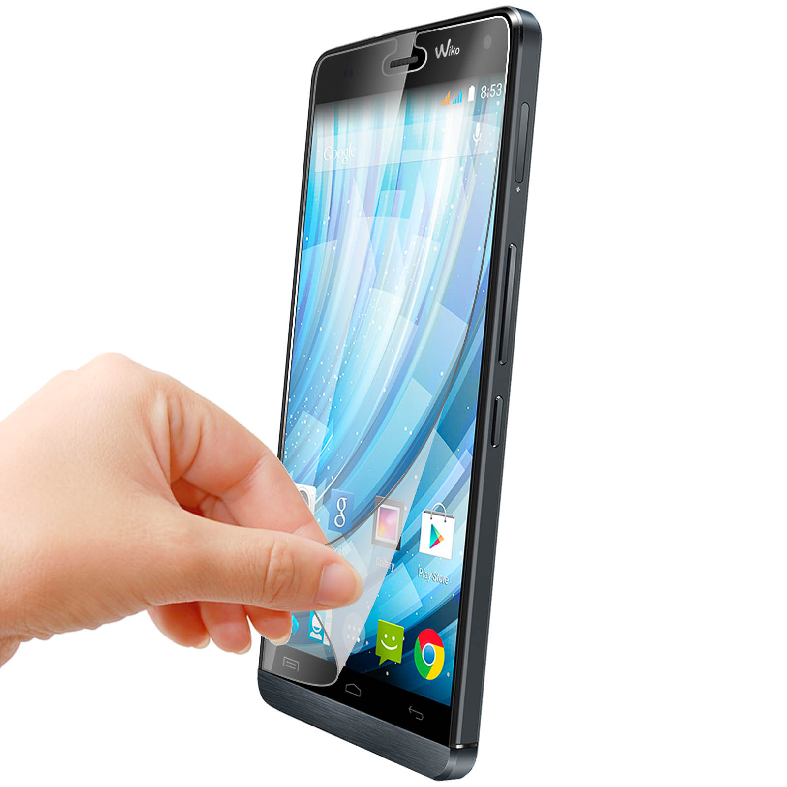 Screen Protector 2-in-1 Pack - Wiko Fever 4G