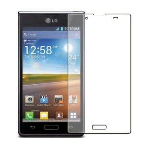 2 Protective Screen Film LG Optimus L7 P700