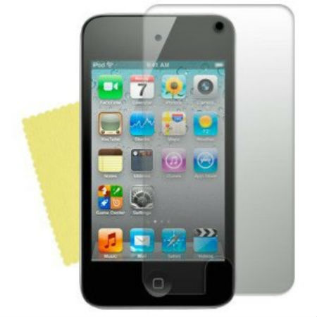 2 Protective Screen Films Ipod Touch 4