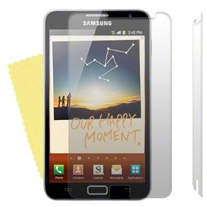 2 displayschutzfolie Samsung Galaxy Note