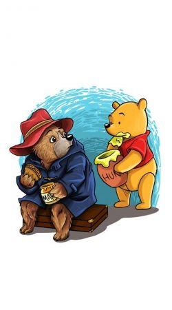 Paddington x Winnie the pooh