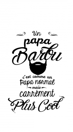 Papa Barbu comme un papa normal mais plus cool