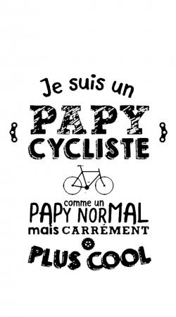Papy cycliste