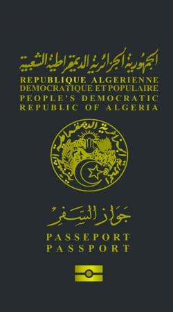 Passeport Algeria