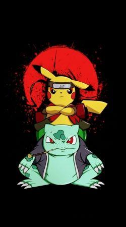 Pikachu Bulbasaur Naruto