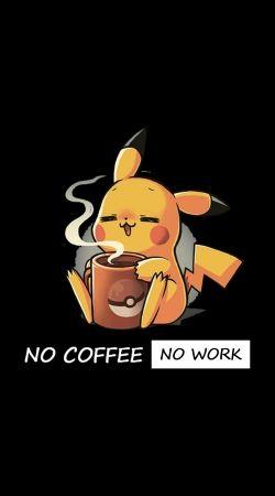 Pikachu Coffee Addict