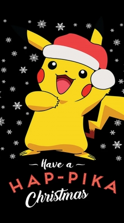 Pikachu have a Happyka Christmas