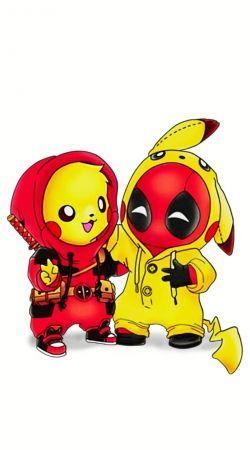 Pikachu x Deadpool
