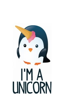 Pingouin wants to be unicorn