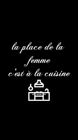 Place de la femme cuisine