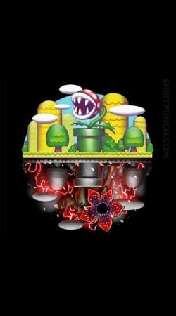 Plants Mario x Upside Down Stranger Things