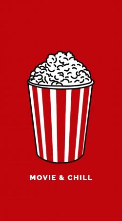 Popcorn movie and chill