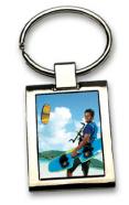 Eleganter Schlüsselring mit ihrem Foto