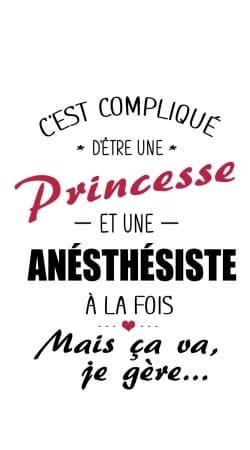 Princesse et anesthesiste