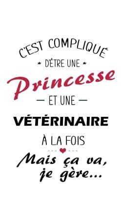 Princesse et veterinaire