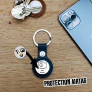 Proteção AirTag com chaveiro