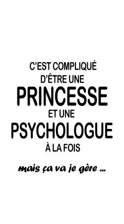 Psychologue et princesse