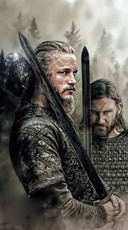 Ragnar And Rollo vikings