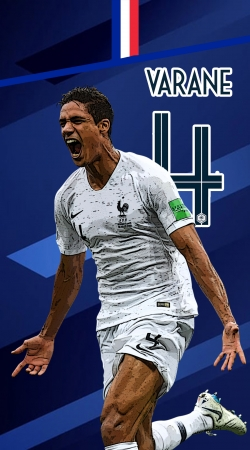 Raphael Varane Football Art
