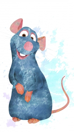 Ratatouille Watercolor