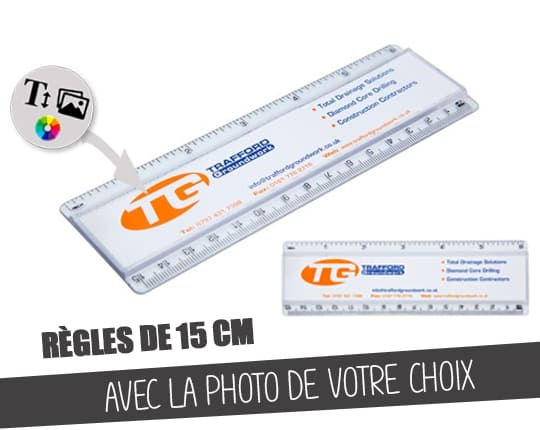 Customizable ruler 15cm