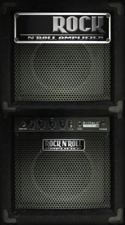 Artwork Rock `N Roll Amplifier do Samsung Galaxy Young S6310