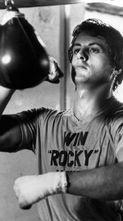 Rocky Balboa Punching Ball-Formação