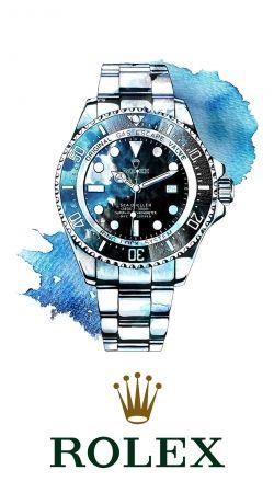 Rolex Watch Artwork
