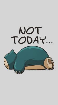 Ronflex Not Today pokemon