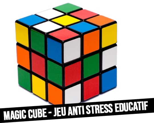 Magic Cube 3x3 Ideal Educational Game Puzzle